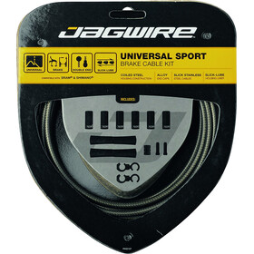 Jagwire Sport Universal Brake Cable Set for Shimano/SRAM carbon silver